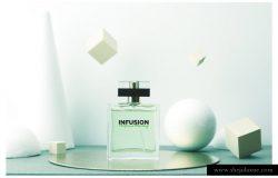 香水外观设计样机模板