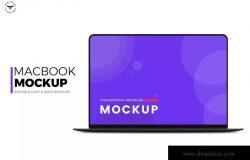 超极本电脑Web设计屏幕演示样机模板 Laptop Mockups