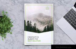 创意企业宣传册/画册设计模板v13 Creative Brochure Template