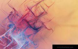 抽象明亮多彩线条背景图片素材