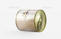 金属罐头展示样机
