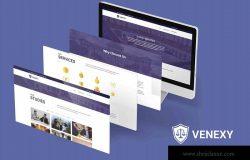 律师事务所/律师门户网站WP主题模板[for Elementor] Venexy – Lawyer Elementor Kit