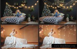 圣诞节和节日装饰设计素材