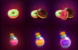 多彩的游戏类图标源文件下载