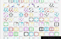 好用的Dribbble(追波)APP设计缩略图模板Mockups下载[For Sketch]
