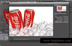 C4D商业广告创意短片制作流程教程 FXPHD – C4D217 Cinema 4D Project Workshop