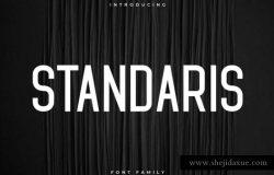 Standaris Sans Serif Demo