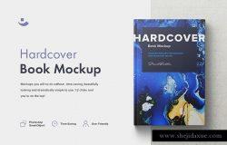 漂亮的书籍智能样机模型mockups素材下载