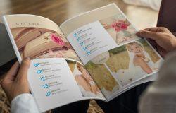 时尚杂志书籍模板