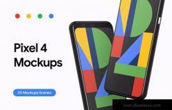 Google Pixel 4-20个设备演示样机合集