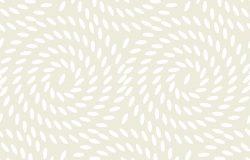 大米无缝图案.淡嫩嫩纹理的矢量图.米色概念食品背景