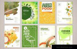 天然有机食品推广小册子演示模板