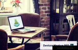 响应式网站设计iPad&MacBook预览效果图样机