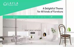 原创家具品牌跨境电商网站Shopify主题模板 Layla – Furniture Shopify Theme