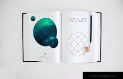 绘画本绘画艺术设计创作预览样机4 Art Book Mockup