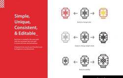 中国风春节新年icon图标、图标下载 [Ai]