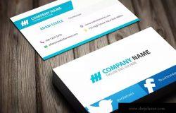 简单而富有创意公司名片模板 Creative Business Card Template