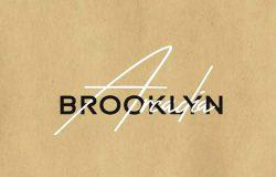 Arcadia & Brooklyn高端奢华商务英文无衬线/手写字体