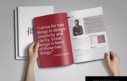设计师作品集设计案例模板 Graphic Designer Portfolio