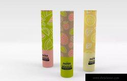 纸筒收纳包装设计样机模板 Paper Tube Packaging Mockup