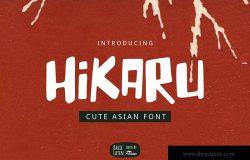 Hikaru亚洲字体 Hikaru Asian Font