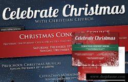 圣诞节假日节日广告专题模板 Christmas & Holiday Announcement