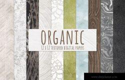 纯天然有机纹理背景 Natural Organic Textured Backgrounds
