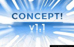 创意概念PS笔刷工具包 CONCEPT! a PS CS6+ brush set