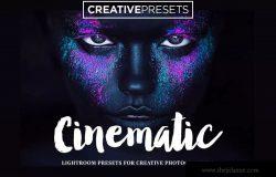 经典电影屏幕效果LR预设 Cinematic Lightroom Presets