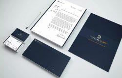 高端企业品牌VI设计办公文具套装