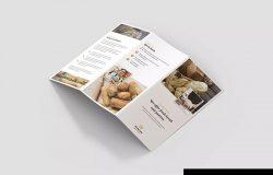 5合1面包店折页宣传单设计模板合集 Bakery – Brochures Bundle Print Templates