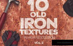 锈迹金属纹理背景素材v2 Old Iron