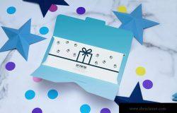 礼品卡设计图预览样机模板 Giftcard Mockup