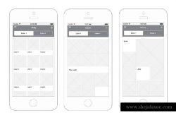 常用的iOS线框图资源完整版