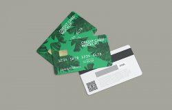 银行卡/信用卡效果图样机