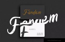英文创意手绘笔刷字体下载 Dreamland – Handbrush Modern Font