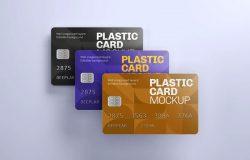 银行卡/信用卡/会员卡设计样机模板