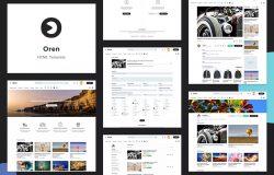 视频共享网站搭建HTML模板