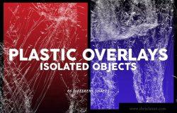 66款超高清透明塑料叠层纹理素材 Plastic Textures & Overlays