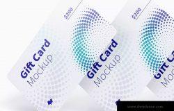 礼品积分卡设计图片预览样机