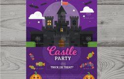 万圣节主题海报集 Halloween posters