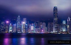27张迷人的香港城市风景照片素材