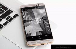 HTC One M9智能手机屏幕设计效果图PSD样机03 HTC One M9+ PSD Mockup