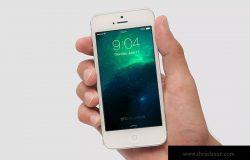 旧款iPhone手机屏幕演示免费样机模板1 iPhone Mockup