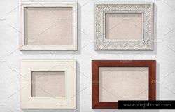 经典画框相框样机PSD模板