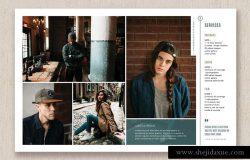 摄影师作品展示宣传册设计模板 Photographer Magazine Template