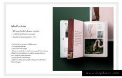 女性时尚主题产品目录&产品画册模板 Portfolio & Catalog • Mïa