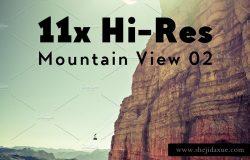 11个高分辨率的阿尔卑斯山景悬崖照片素材 11x Hi-Res The Alps Mountain View II