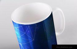马克杯子定制图案预览样机