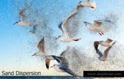 风化溶砂照片效果处理动作 Sand Dissolve